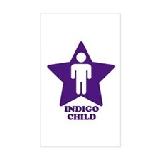 Indigo Child Rectangle Decal