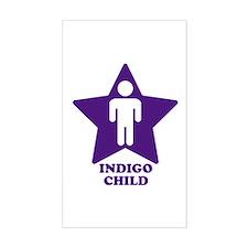 Indigo Child Rectangle Decal