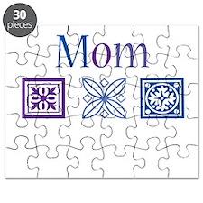 Mom Quilt Blocks Puzzle