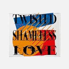 Twisted Shameless Love Throw Blanket