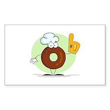 Doughnut Decal