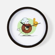 Doughnut Wall Clock