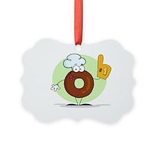 Doughnut Picture Ornament