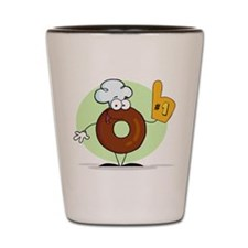 Doughnut Shot Glass