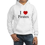 I heart Pirates Hooded Sweatshirt