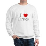 I heart Pirates Sweatshirt