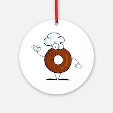 Doughnut Ornament (Round)