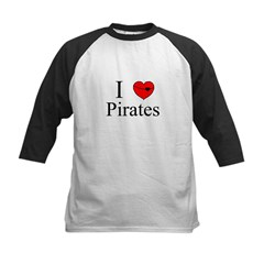I heart Pirates Tee