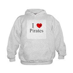 I heart Pirates Hoodie