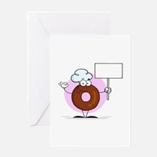 Doughnut Greeting Card