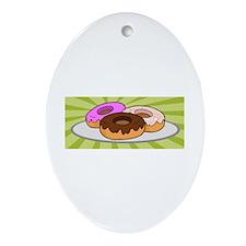 Doughnut Ornament (Oval)