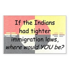 Immigration Laws Decal