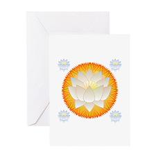 Lotus Blossom Greeting Card