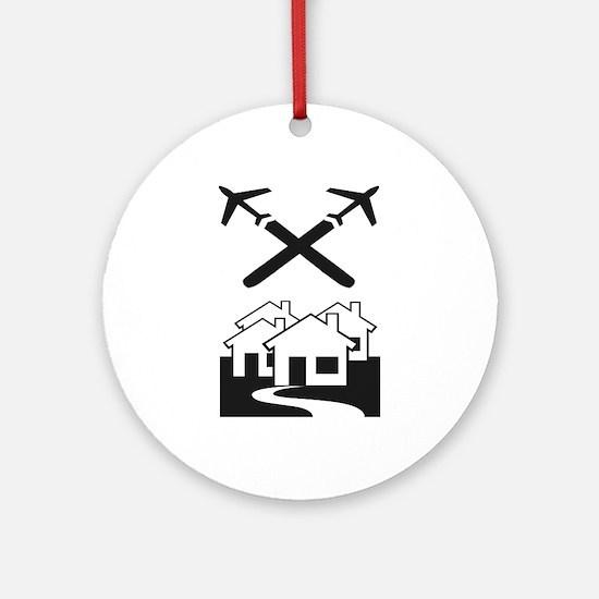 Chem-Trail Ornament (Round)