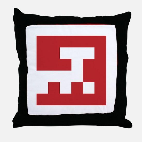 Curiosity Rover Icon Throw Pillow