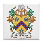 MacCosker Coat of Arms Tile Coaster