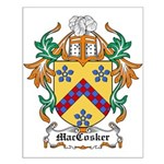 MacCosker Coat of Arms Small Poster