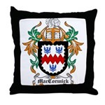 MacCormick Coat of Arms Throw Pillow
