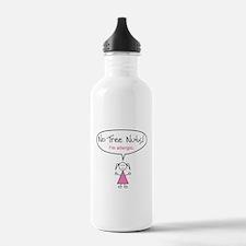 Tree Nut Allergy Stainless Water Bottle for Girls