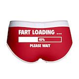 Funny Ladies Boy Shorts