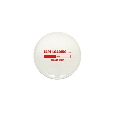 Fart Loading Mini Button (10 pack)