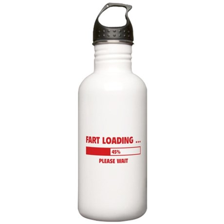 Fart Loading Stainless Water Bottle 1.0L