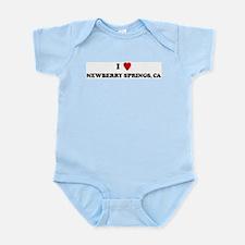 I Love NEWBERRY SPRINGS Infant Creeper