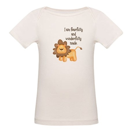 I am fearfully and wonderfully made Organic Baby T