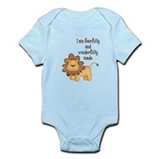 I am fearfully and wonderfully made Onesie
