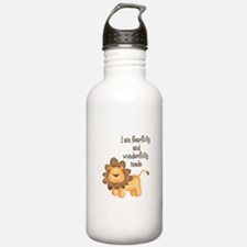 I am fearfully and wonderfully made Water Bottle