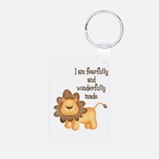 I am fearfully and wonderfully made Keychains