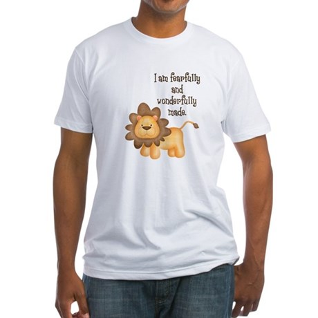 I am fearfully and wonderfully made Fitted T-Shirt