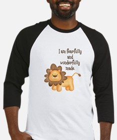 I am fearfully and wonderfully made Baseball Jerse