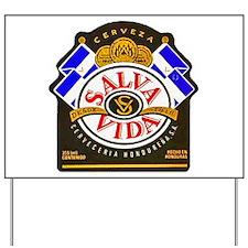 Honduras Beer Label 2 Yard Sign