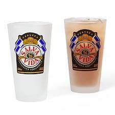 Honduras Beer Label 2 Drinking Glass
