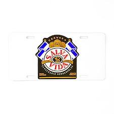 Honduras Beer Label 2 Aluminum License Plate