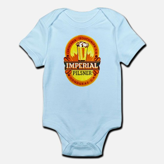 Honduras Beer Label 1 Infant Bodysuit