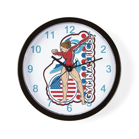 Gymnastics Wall Clock