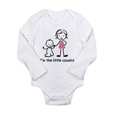 Little Cousin - Stick Figures Long Sleeve Infant B