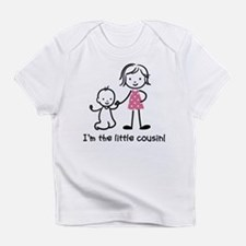 Little Cousin - Stick Figures Infant T-Shirt