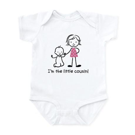 Little Cousin - Stick Figures Infant Bodysuit