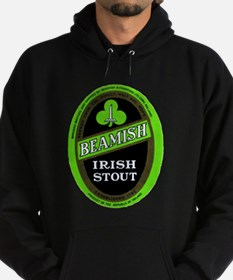Ireland Beer Label 3 Hoodie (dark)