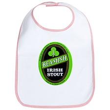 Ireland Beer Label 3 Bib