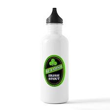 Ireland Beer Label 3 Water Bottle
