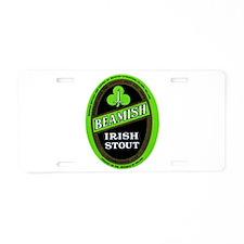 Ireland Beer Label 3 Aluminum License Plate