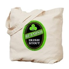 Ireland Beer Label 3 Tote Bag