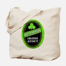 Ireland Beer Label 3 Tote Bag