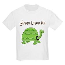 Jesus loves me - Turtle T-Shirt
