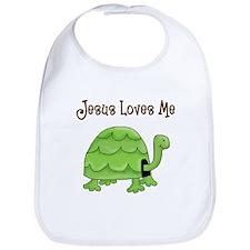 Jesus loves me - Turtle Bib