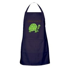 Jesus loves me - Turtle Apron (dark)